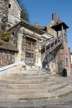 Lieutenance of Honfleur - Calvados Saint Aubin, Brick Construction, Honfleur, Normandy France, Mont Saint Michel, England And Scotland, Paris Photos, Grand Tour, Sardinia