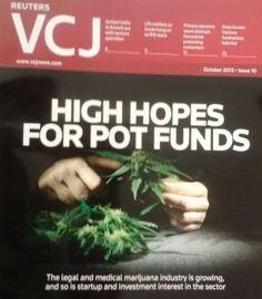 Investors are lining up to get a piece of the marijuana pie. #Marijuana #VentureCapital