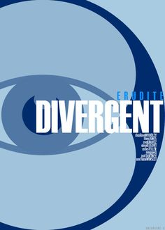 Divergent Movie fan made movie poster based on the 5 factions in Divergent (book written by Veronica Roth. Erudite.