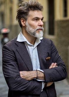 Simone-Righi-beard-menswear-italian.jpg (669×945)