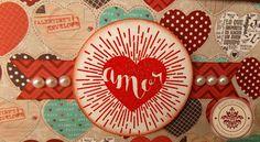 SEMANA DE INSPIRACIÓN - DÍA 3 Te presentamos una caja álbum, la caja cuenta con muchos detalles y al abrirla, un sorprendente álbum lleno de pestañas y compartimentos, no olvides participar y comentar todos los post esta semana !!! http://crea-lo-inimaginable.blogspot.mx/2016/02/amor-en-caja.html #texturarte #love #sanvalentin #scrapbook #scrapbooking