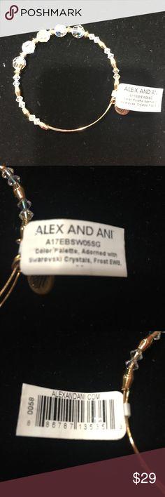 Alex and Ani with Swarovski Crystals Stunning Alex & Ani Jewelry Bracelets