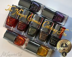 COVERGIRL The Capitol Collection Outlast Nail Glosstinis for The Hunger Games: Catching Fire | AllLacqueredUp.com