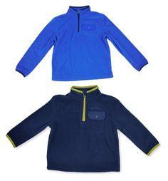 Eddie Bauer Boys Fleece Jacket 2T 1/4 Zip Long Sleeve Pocket Pullover Coat NEW #EddieBauer #Jacket #DressyEverydayHoliday