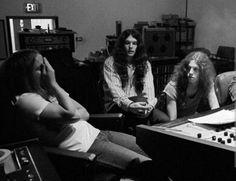 Allen, Gary & RVZ in studio