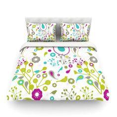 104 X 88 KESS InHouse Nicole Ketchum Moroccan Hot Pink King Cal King Comforter