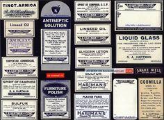 20 Antique Nebraska Vintage Hartman ' S Drug Store Pharmacy Medicine Bottle Labels Other photo