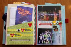 Disney Smash Book by Kathleen Taylor featuring Project Mouse by Britt-ish Designs and Sahlin Studio - Christmas