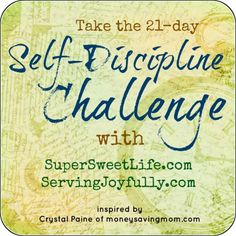 Join Crystal, Laura, and Erin for the 21-day Self-Discipline Challenge starting Nov. 1!