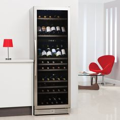 Caple WF1548 - 60cm Freestanding Triple Zone Wine Cooler | Appliance City