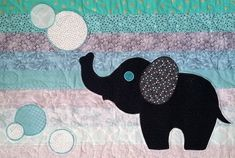 The Baby Boy Elephant Quilt Tutorial