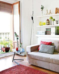 Un appartement madrilène plein de couleurs