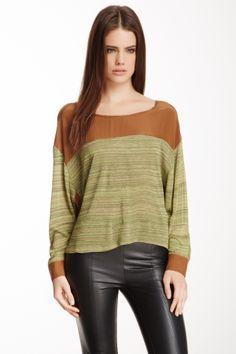 Colorblock Dolman Sweater on HauteLook