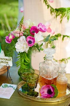 Fuchsia Meets Emerald Green - Wojoimage Photography, Styled by Heartily Wed
