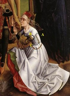 detail, The Deposition, unknown Flemish master, active 1470s