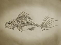 fishbone paintings - Buscar con Google