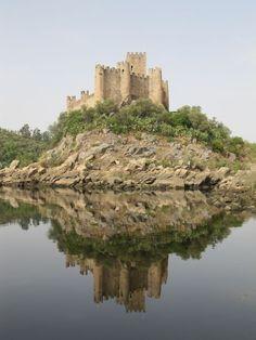 Almourol Castle - Santarem, Portugal