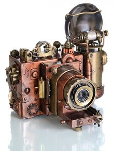 richleighton:  Steampunk camera.Here are more photos of it from...