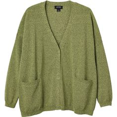 Monki Nilla knitted cardigan (11.440 CLP) ❤ liked on Polyvore featuring tops, cardigans, outerwear, jackets, clothes - outerwear, pick your poison, knit cardigan, wrap top, wrap cardigan and green cardigan