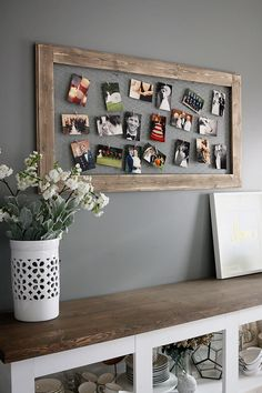 make a photo collage from your favorite photos photography oldchicken wire photo frame bower power