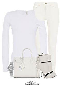 Unbenannt #2582 by saskiasnow on Polyvore featuring polyvore, fashion, style, Thierry Mugler, Acne Studios, Giuseppe Zanotti, Yves Saint Laurent, Rolex and clothing