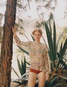 Escape to Gran Canaria with Anna Ewers Photos | W Magazine
