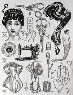 Resultado de imagem para triple goddess tattoo