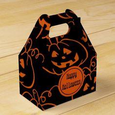 #affiliatelink #promo Halloween Pumpkins Gable Favor Box #pumpkins #orange #black #happy #halloween #halloweenfavors #halloweenparty #halloween #halloweenentertaining #zazzle Halloween Party Favors, Happy Halloween, Halloween Cards, Halloween Treats, Imprimibles Halloween, Halloween Entertaining, Gable Boxes, Plate, Pumpkin Jack