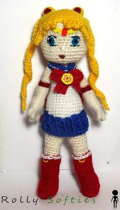 Sailor Moon is the main character of one of the most famous anime in the world, and this is the free pattern to crochet her.