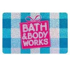Bath and body works gift certificate