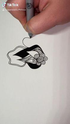 Sharpie Drawings, Sharpie Art, Doodle Art Designs, Doodle Art Drawing, Scratch Art, Indie Art, Microorganisms, Generative Art, Line Illustration