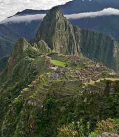 The Lost City of the Incas, Machu Picchu, Peru (by Marc Shandro).