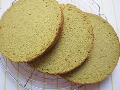 Great recipe for Light and Moist Matcha Sponge Cake. After making my milk and chocolate sponge cakes, I wanted to make a matcha sponge cake too! For 18 cm/7 inch (or 20cm) diameter cake (see notes in steps 26-29for other sizes). (Recipe by Mareko)