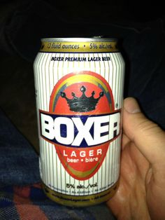Boxer Lager, Beer of Champions. Cheap beer at its finest! Cheap Beer, Lager Beer, Boxer, Champion, Boxer Pants