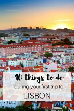 If it's your first trip to Lisbon then check out this beginner's guide with all the best things to see and do in Lisbon - all in a perfect order to get the most out of your trip!