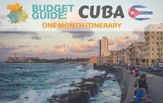 Complete Suggested Itinerary for One Month in Cuba from one end of the island to the other!Looking to travel Cuba on a budget? Fly To Cuba, Cuba Itinerary, Cuba Culture, Cuba Fashion, Cuba Beaches, Visit Cuba, Havana Nights, Cuba Travel, Beautiful Sunrise