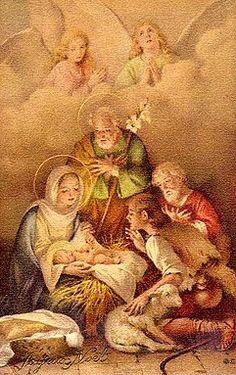 La Sacra Famiglia.