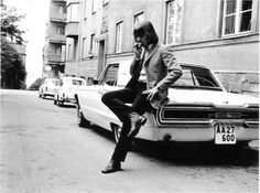Benny Andersson and his Tbird He is in a pop group called The Hep Stars in the 60´s