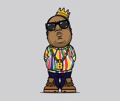 Various Projects/ Character Design 41 on Behance Dope Cartoons, Dope Cartoon Art, Arte Hip Hop, Hip Hop Art, Graffiti Characters, Cute Characters, Tupac Art, Trill Art, Pop Art Drawing