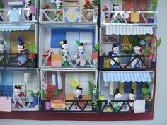 Visual i Plàstica | Cicle Superior Mini kokeshi houses