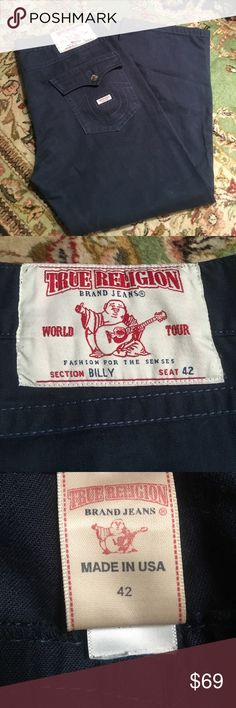 Mens dark blue true religion jeans 42 🎉❤️reduced by $15!❤️🎉🎉True religion men's dark blue jeans 42 True religion Jeans Relaxed