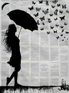 Con mariposas by Jover