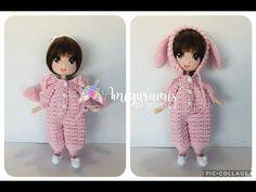 Muñeca Bunny amigurumis by Petus - YouTube Crochet Doll Clothes, Crochet Dolls, Amigurumi Doll, Hobbit, Youtube, Dinosaur Stuffed Animal, Bunny, Toys, Animals