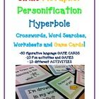 This Figurative Language Activity Bundle can be used for homework, classwork, independent work time, centers, etc. Simile Metaphor Personification Hyperbole 10 GAMES and 13 ACTIVITIES Bundle Figurative Language Activity, Similes And Metaphors, Teaching English Grammar, First Year Teachers, English Lessons, Math Lessons, Reading Comprehension, Marketing, Language Arts