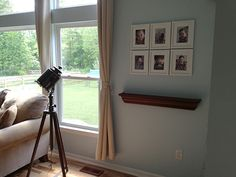 Clever Picture Frame Series Idea