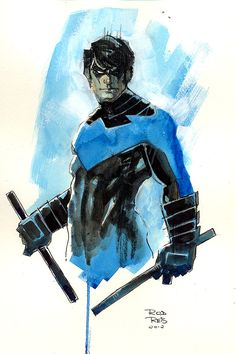 nightwing | Nightwing commission