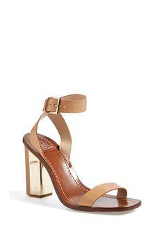 Tory Burch 'Bleecker' Leather Ankle Strap Sandal (Women) - on #sale 33% off @ #Nordstrom