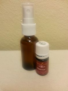 Sore Throat Spray: glass spray bottle filled to neck with distilled water add drops of YL Thieves essential oil. Spray in back of throat. Essential Oils For Colds, Thieves Essential Oil, Essential Oil Uses, Theives Oil, Oils For Sore Throat, Throat Spray, Yl Oils, Young Living Oils, Distilled Water