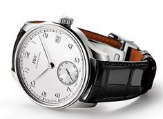 Portuguese Chronograph Classic Portuguese Hand-Wound Eight Days IWC Two New Models Grace Portuguese Collection (See more at: http://watchmobile7.com/articles/iwc-two-new-models-grace-portuguese-collection) (4/6) #watches #iwc @Independent World Watches
