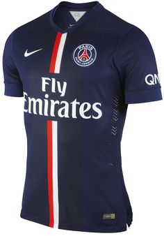 New Paris Home, Away and Third Kits. The new Paris SG Home Kit comes again with a new kit design, the new PSG Away Shirt is white / navy, while the PSG Third Jersey is red. Team Shirts, Soccer Shirts, Polo T Shirts, Sports Shirts, Nova Camisa Do Psg, Fly Emirates Jersey, Crosse De Hockey, Soccer Cleats, Jersey Outfit